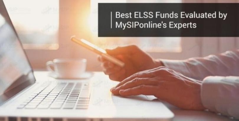 Best ELSS Funds Evaluated by MySIPonline's Experts