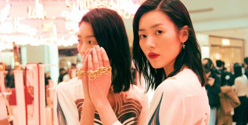 Supermodel Liu Wen releases fashion shoots