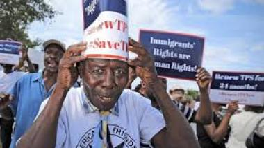Haitian-Americans Protest Trump's Vulgar Remarks