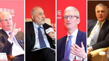 CEOs, experts weigh in on trade war at China forum