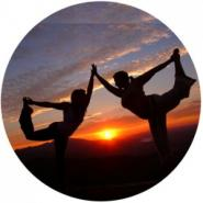 Celebrate the occultation with friendly yoga poses