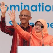 Malay set to beome Singapore's first woman president