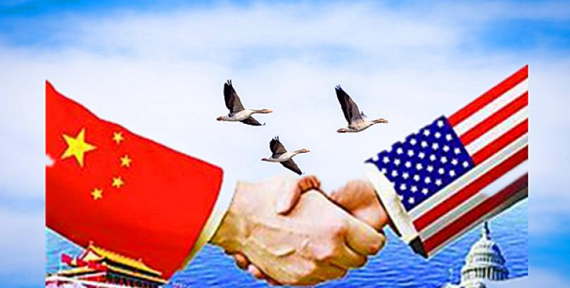 China and United States, a love-hate relationship