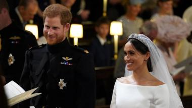 Prince Harry and Meghan are married at Windsor