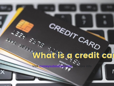What is a credit card?