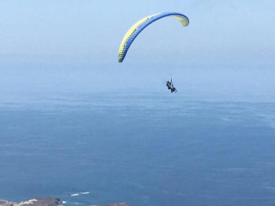 Paragliding in Tenerife: Relax..
