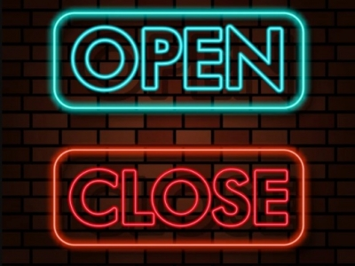 Open Neon Signs - Helpful Adve..