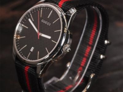 레플리카 시계 구찌 삼선 사각 여성 큐빅베젤 20mm ..