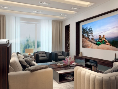 Home-based movie theater and h..