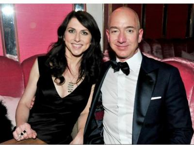 MacKenzie Bezos will keep 25% ..