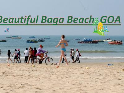 Baga Beach -  Goa, in its Pure..