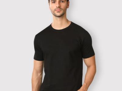Shop Premium Quality Black T-S..