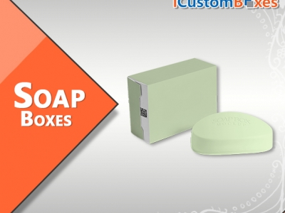 Get Stylish Printed Soap Boxes..