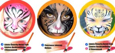 Simple, Fun Face Painting Idea..