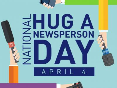 # Hug A Newsperson Day