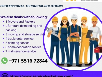 Search Best Movers in Dubai