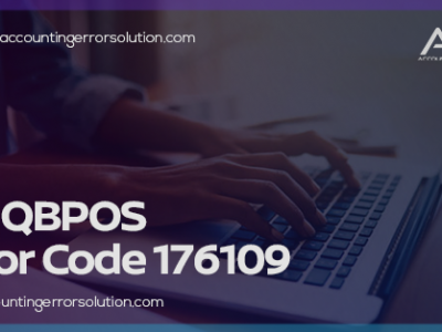 How to Fix QBPOS Error Code 17..