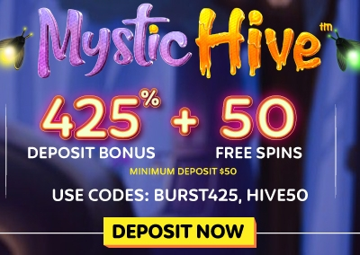 SPIN 'MYSTIC HIVE' SLOT IN STY..