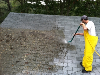 Does Cleaning Your Roof Damage..