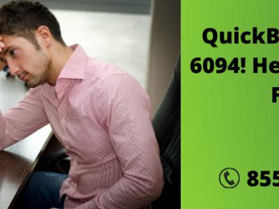 QuickBooks Error 6094! Here's ..