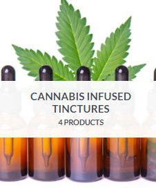 Buy Cannabis infused tinctures..