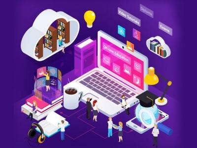Launch an online learning app ..